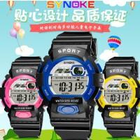 时诺刻/SYNOKE 儿童电子手表 生活防水 多功能新款学生运动手表 男女学生 小学生数字手表