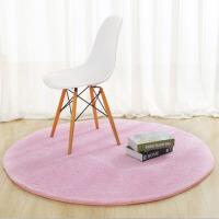 客厅床边吊篮毯家用电脑椅地垫 简约圆形地毯茶几卧室