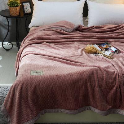 珊瑚绒毯子冬季加厚保暖法兰绒毛毯男学生单人宿舍女冬用被子盖毯   本店部分商品实为定金价格,下单前联系客服确认以及大件商品修改运费,定制产品可能延