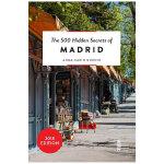 【预订】【500个隐藏秘密旅行指南】Madrid,马德里 英文原版旅游攻略