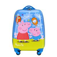 小猪佩奇拉杆箱16寸儿童行李箱男女18寸万向轮旅行箱20寸旅行箱包