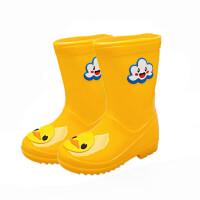 �和�雨鞋1-3�q����雨靴男童女童幼�耗z鞋小孩防滑水鞋大小童�W生�底 20�a/ �乳L14cm