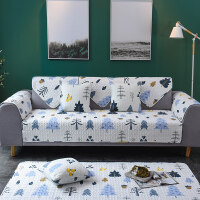 北欧沙发垫现代简约四季通用防滑沙发巾盖布罩套飘窗垫定做