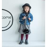 韩版儿童包包可爱猫咪造型斜跨包宝宝卡通单肩包丝绒零钱配饰小包