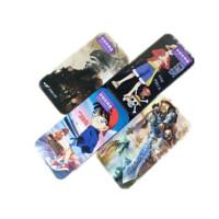 柯南双层收纳盒英雄联盟穿越火线海贼王铁盒文具盒学习用品