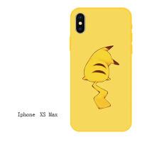 卡通可爱xs max苹果6s手机壳iPhone7情侣6plus硅胶xr软壳女款/8x iPhonexs max背影皮卡