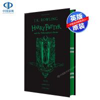斯莱特林学院精装版 哈利波特与魔法石 英文原版 Harry Potter Philosopher's Stone JK罗