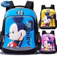 正品迪士尼韩版儿童书包小学生男女双肩包1-3-4-6年级米奇减负背包儿童书包8-10-12岁