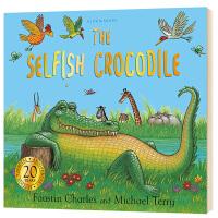 自私的鳄鱼 英文原版绘本 The Selfish Crocodile Anniversary Edition 英文版儿