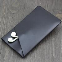 适用品胜充电宝20000毫安LCD移动电源保护套皮套收纳包袋 黑色 立体双层款