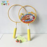 �和�羽毛球拍日本面超卡通�\�有蓍e幼��@�w育健身2-3-4�敉馔婢�