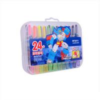 晨光文具 蜡笔 短款旋转 AGMX4305 儿童绘画涂鸦画笔 18色/24色 两款可以选择