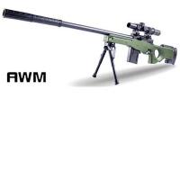 AWM98K狙击玩具枪可发射抛壳水弹儿童吃�u求生战场玩具枪