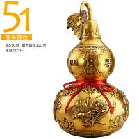铜葫芦摆件家居装饰品摆设客厅中式工艺品摆件