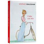 寻欢作乐 英文原版 文学小说 Cakes And Ale 毛姆 英文版原版书籍 正版进口英语书 Vintage Cla