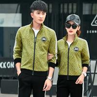 情侣运动服套装男女春秋休闲运动装两件套运动衣青年跑步运动套装