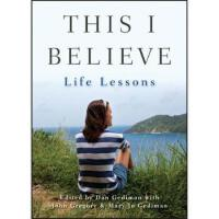 【预订】This I Believe 9781118481998