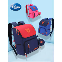 迪士尼男童1-3-6年级双肩米奇休闲韩版儿童男孩背包小学生书包