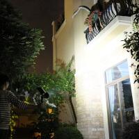 太阳能灯 户外草坪灯庭院灯花园别墅射灯防水超亮地插灯家用路灯n8d