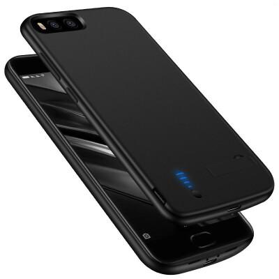 小米MIX2背夹充电宝6/5s便携式电池小米5/5X/5C手机冲壳 小米6/5S 磨砂黑(软边 带USB接口) 发货周期:一般在付款后2-90天左右发货,具体发货时间请以与客服协商的时间为准