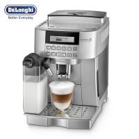 德龙(DeLonghi) 全自动咖啡机ECAM22.360.S 意式家用咖啡机 蒸汽式自动奶泡 豆粉两用 原装进口专业