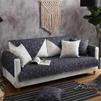 北欧沙发垫四季通用简约现代布艺全棉客厅坐垫全包沙发套巾罩