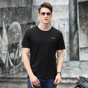 9084夏装新款吉普盾男士商务休闲宽松短袖T恤衫 大码弹力polo衫