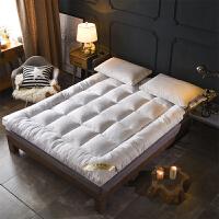 榻榻米可折叠羽绒棉床垫加厚10cm1.5m1.8米床褥垫被