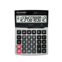 夏普/SHARP 计算器EL-D1200 中号台式计算器 12位数大显示大按键