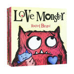 The Love Monster Collection 小怪兽阿蒙 全四册