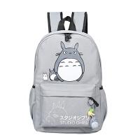 双肩背包女士韩版中学生书包纯色双肩大容量包女孩学院风休闲包