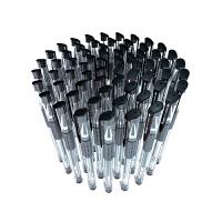 广博50支中性笔批发学生用黑色碳素笔0.5mm签字笔水笔批发办公文具用品