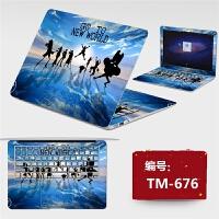 14寸笔记本宏�Acer 4741G 外壳保护贴膜电脑免裁剪炫彩贴纸