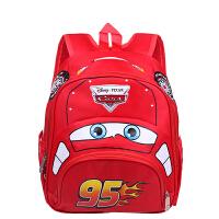 幼儿园儿童书包3-6周岁3D男童女款汽车模型卡通双肩背包小学生