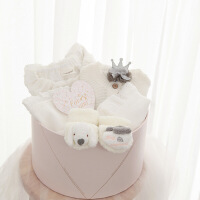 №【2019新款】冬天用的婴儿秋冬套装初生0-3个月纯棉新生儿礼盒满月服礼物百日宝宝用品