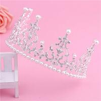 款 生日皇冠装饰品 儿童公主生日帽子皇冠头饰 baby同款