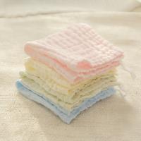 20180823142254780指向标 宝宝口水巾围嘴纯棉婴儿小方巾儿毛巾婴儿洗脸巾纱布