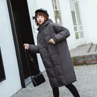 ins面包棉袄女韩版加厚学生冬季外套羽绒棉衣服女中长款