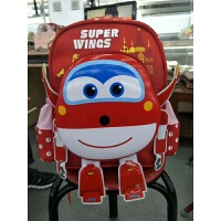 飞侠幼儿园书包3-5岁6女宝宝男童潮帆布儿童书包可爱双肩背潮