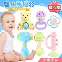 【每满100减50】儿童早教益智婴幼儿手抓摇铃6件套装宝宝0-1岁宝宝玩具