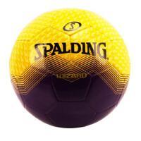 斯伯丁 SPALDING 64-927Y 比赛系列足球 5号标准球 机缝耐磨 黄/紫色 TPU材质