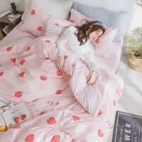 ???大�W宿舍床上用品三件套�稳�W生��室她的被四件套 2.0m(6.6英尺)床 ◆床笠款套件◆