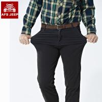 AFS JEEP休闲裤男直筒宽松长裤战地吉普男装大码休闲男裤7618