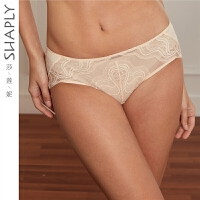 莎莲妮性感蕾丝舒适透气女士内裤中低腰平角裤DSL9109