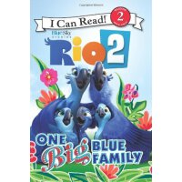 I Can Read Level 2 Rio 2: One Big Blue Family ISBN:97800622