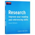 如何提升阅读和文献引用技能 英文原版 Research B2+ 柯林斯学术技能系列 大学生英语学习考试书 英文版进口书