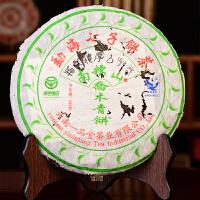 【两片一起拍】2006年一品堂南糯青饼古树普洱生茶 500克/片