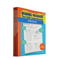 Reading Passages That Build Comprehension 学乐阅读练习学会推理阅读理解 教学参考书 6册