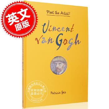 现货 遇见艺术家:文森特梵高 英文原版 Vincent Van Gogh: Meet the Artist! 向日葵 油画 遇见艺术家系列立体书 Vincent Van Gogh: Meet the Artist!