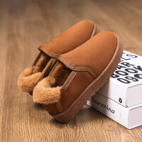 №【2019新款】冬天小朋友穿的儿童雪地靴男童6女孩棉鞋12中大童8女童靴子15岁10